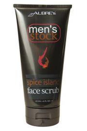 Aubrey Organics, Spice Island Scrub do twarzy, 177 ml