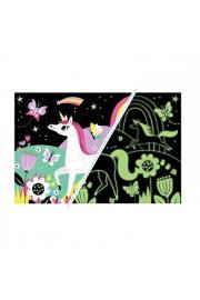 Mudpuppy Puzzle �wiec�ce W Ciemno�ci - Jednoro�ce