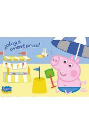 �winka Peppa Zabawa na Pla�y - plakat