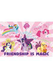 My Little Pony Przyja�� to Magia - plakat
