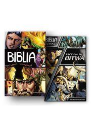 Pakiet - Biblia Komiks / Zaczyna się bitwa