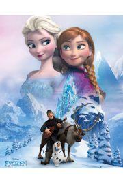 Kraina Lodu Frozen Kola� - plakat