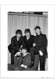 The Beatles Chair - art print