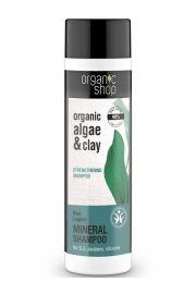 Organiczny Szampon do wł. wzmacniający Błękitna Laguna OS Organic Shop