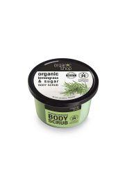 Organiczny Peeling do Ciała Trawa cytrynowa i Cukier OS Organic Shop