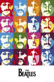 The Beatles Sea of Colours - plakat