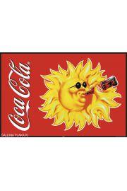 Coca-Cola - Spragnione Słońce - plakat