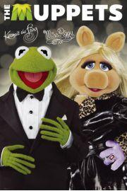 The Muppets Kermit Żaba i Świnka Piggy - plakat