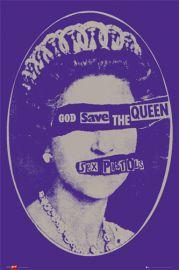 Sex Pistols - God Save the Queen - plakat