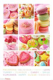 Ciastka i Słodkości - plakat