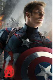 Avengers Czas Ultrona - Kapitan Ameryka - plakat