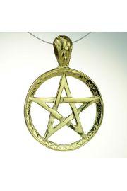 Pentagram Tybetański, pozłacany