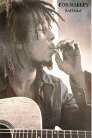 Bob Marley Rastaman - plakat