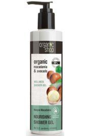 Żel Pod Prysznic Odżywczy Kenijskie Orzechy Macadamia 280 Ml - Organic Shop