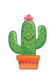 Kaktusowy zegar
