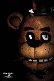Five Nights at Freddys Fazbear - plakat