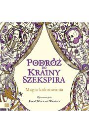 Podróż do krainy Szekspira Kolorowanka