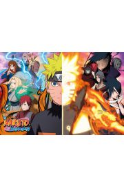 Naruto Shippuden Split - plakat