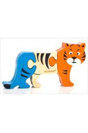 Ecoboo, Tygrys-mini puzzle z bambusa