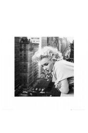 Marilyn Monroe na Balkonie - reprodukcja