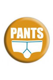 PANTS - przypinka
