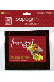 Tortilla Wraps Warzywna Czerwona Bezglutenowa Bio 125 G - Papagrin