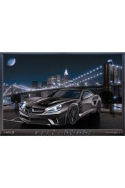 Mercedes C25 - plakat