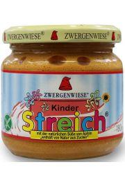 Pasta Słonecznikowa Dla Dzieci Bez Dodatku Cukrów Bezglutenowa Bio 180 G - Zwergenwiese