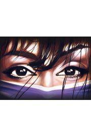 Arabskie Tajemnicze Oczy - plakat