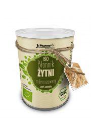 Błonnik Pokarmowy Żytni Mikronizowany Bio 120 G - Pharmovit