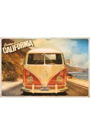 Volkswagen Camper Wakacje - plakat