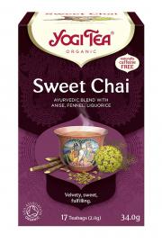 Herbatka Słodki Chai Bio (17 X 2 G) - Yogi Tea