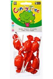 Lizaki Okr�g�e O Smaku Truskawkowym Bezglutenowe Bio (7 X 10 G) - Candy Tree