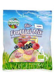 Eko żelki owocowe bez żelatyny mix 100g OEKOVITAL