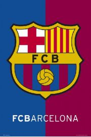 FC Barcelona - Godło Klubu - plakat