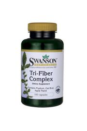Swanson Tri-fiber Complex (3 naturalne błonniki) 100 kaps.