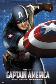 Kapitan Ameryka Tarcza - plakat