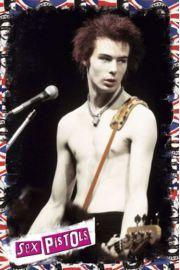 Sex Pistols Sid Vicious - plakat