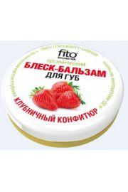 Organiczny balsam-b�yszczyk do ust 3D Truskawka; wit A;C;E. FIT Fitocosmetic