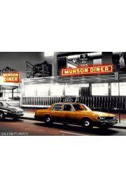 Nowy Jork Munson Diner - Żółta Taksówka - plakat