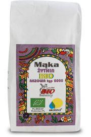 Mąka Żytnia Razowa Typ 2000 Bio 1000G - Babalscy