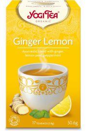 Herbatka Imbirowo - Cytrynowa Bio (17 X 1,8 G) - Yogi Tea