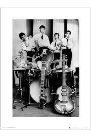 The Beatles Instruments - art print