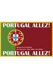 Portugalia - Piłka Nożna - plakat