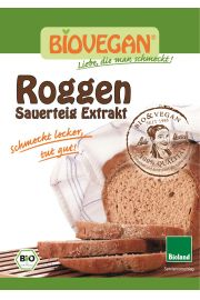 Zakwas Chlebowy Żytni W Proszku Bio 30 G - Bio Vegan