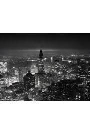 Nowy Jork nocą - reprodukcja