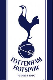 Tottenham Londyn Hotspurs Godło Klubu - plakat