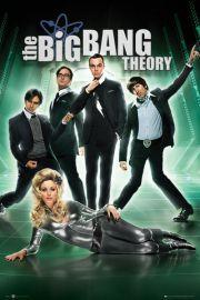 The Big Bang Theory Green Group - plakat