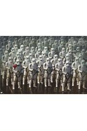 Star Wars Gwiezdne Wojny Przebudzenie Mocy Stormtroopers - plakat