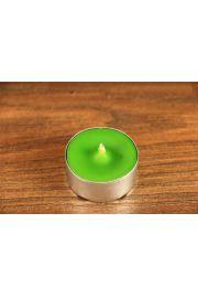 Świeca tealight z wosku pszczelego – zielona